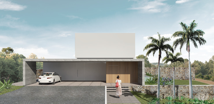 Del Nero Da Fonte Arquitetura Maisons modernes