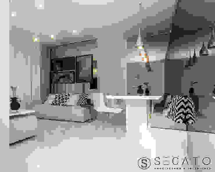 Secato Arquitetura e Interiores 다이닝 룸의자 & 벤치