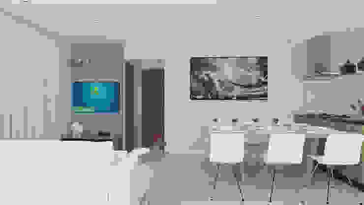 Secato Arquitetura e Interiores ВітальняПідставки для телевізорів та шафи