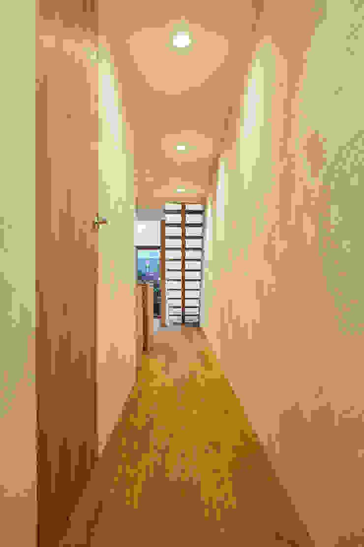 Modern Koridor, Hol & Merdivenler 一級建築士事務所 こより Modern