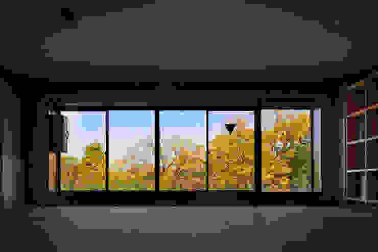 一級建築士事務所 こより Minimalistische Fenster & Türen Mehrfarbig