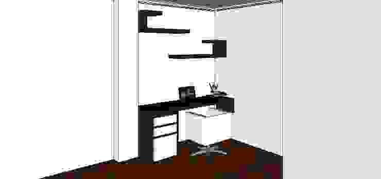 proyecto salitre Estudios y despachos de estilo minimalista de Mobelmuebles Minimalista