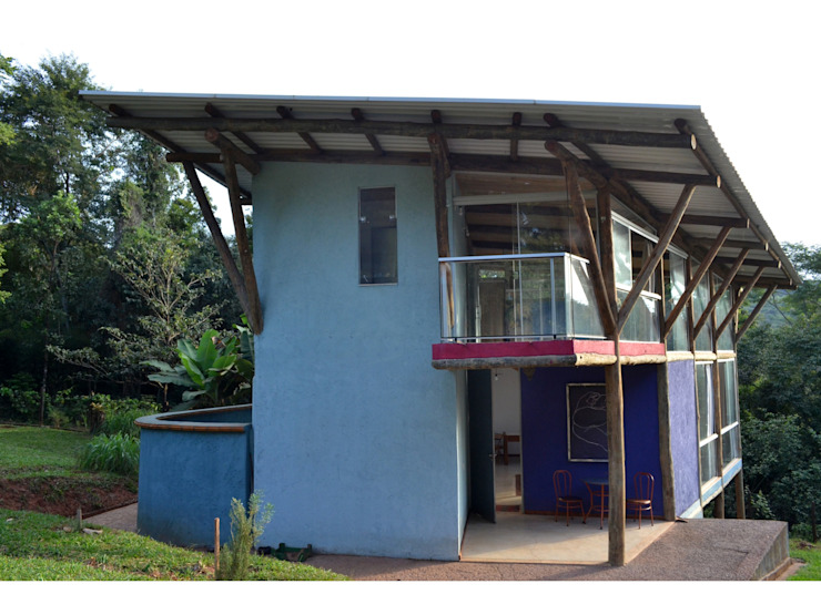 Casas estilo moderno: ideas, arquitectura e imágenes de JOAO DINIZ ARQUITETURA Moderno