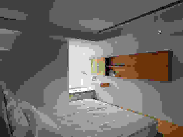 范宅|主臥室| 根據 璞延空間設計 簡約風