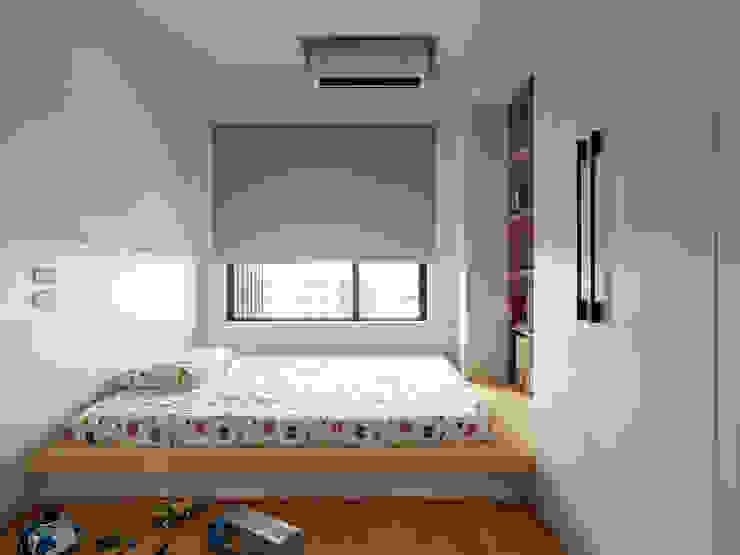 范宅|小孩房| 根據 璞延空間設計 簡約風
