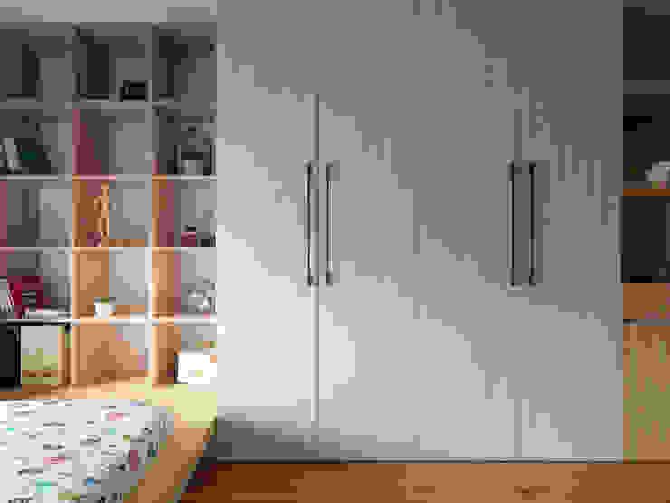 Спальня в стиле минимализм от 璞延空間設計 Минимализм