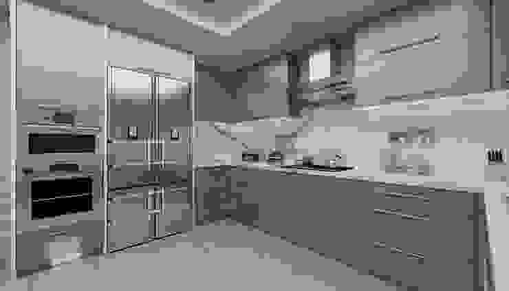 Modern Mutfak Projesi Modern Mutfak Kapars Mobilya & Dekorasyon Modern