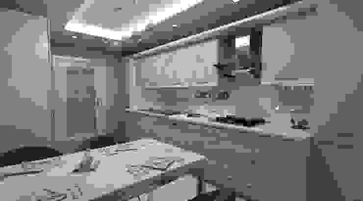 Nhà bếp phong cách hiện đại bởi Kapars Mobilya & Dekorasyon Hiện đại