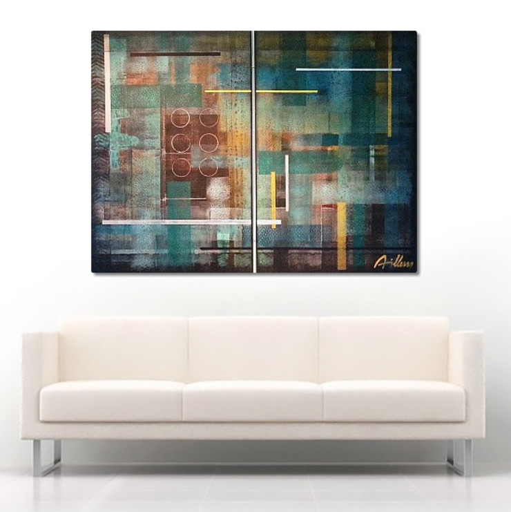 Abstract paintings: modern  by Nancy Aillery Paintings, Modern