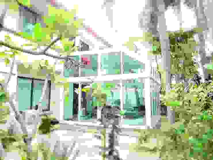 ห้องกระจก UPVC ย่านราชพฤกษ์ โดย สกายวิวโมดูลาห์