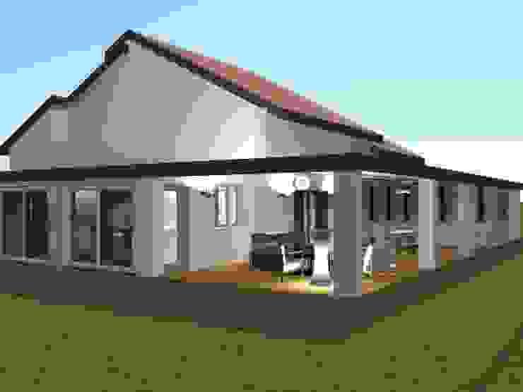 Casas de estilo clásico de relion conception Clásico
