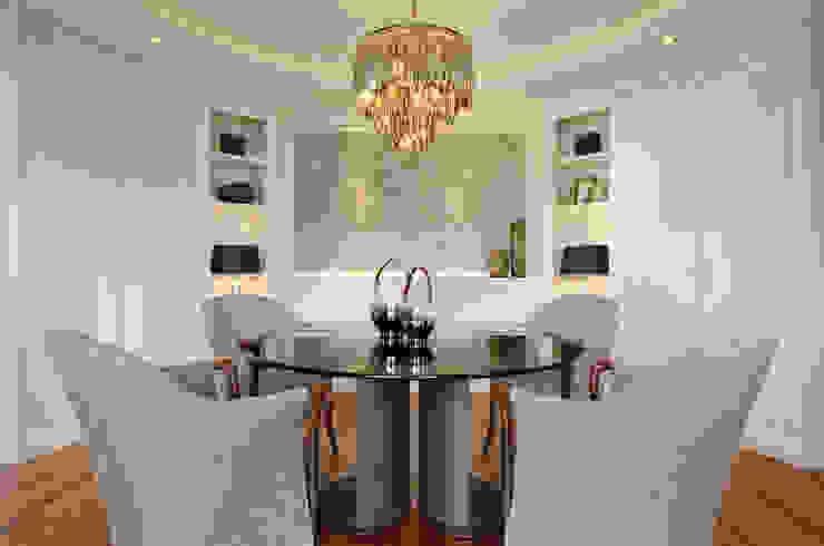 Hunke & Bullmann Ruang Makan Modern Grey