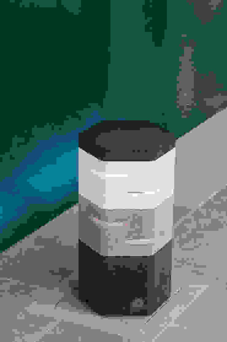 Holix II in Charcoal Lustre, Grey Mist and Vanilla Ice: modern  by Jalu Ltd, Modern