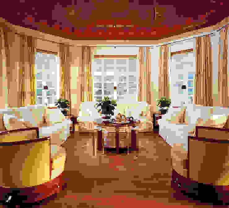 Verschiedene Kundenprojekte Hunke & Bullmann Klassische Wohnzimmer Bernstein/Gold