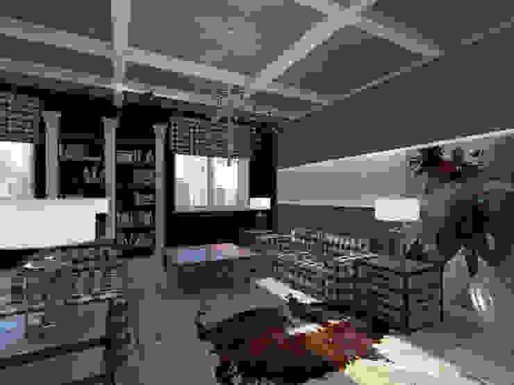 loft Гостиная в стиле лофт от osavchenko Лофт