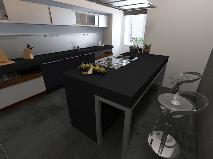 Industrial style kitchen by osavchenko Industrial
