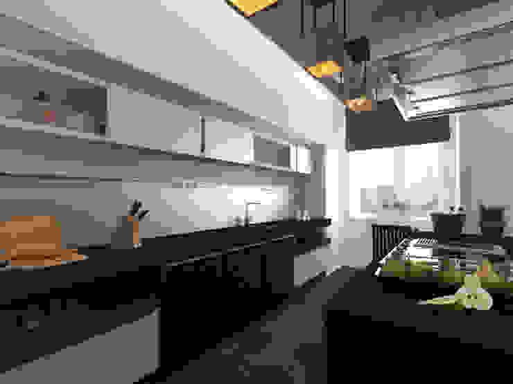 loft Кухня в стиле лофт от osavchenko Лофт