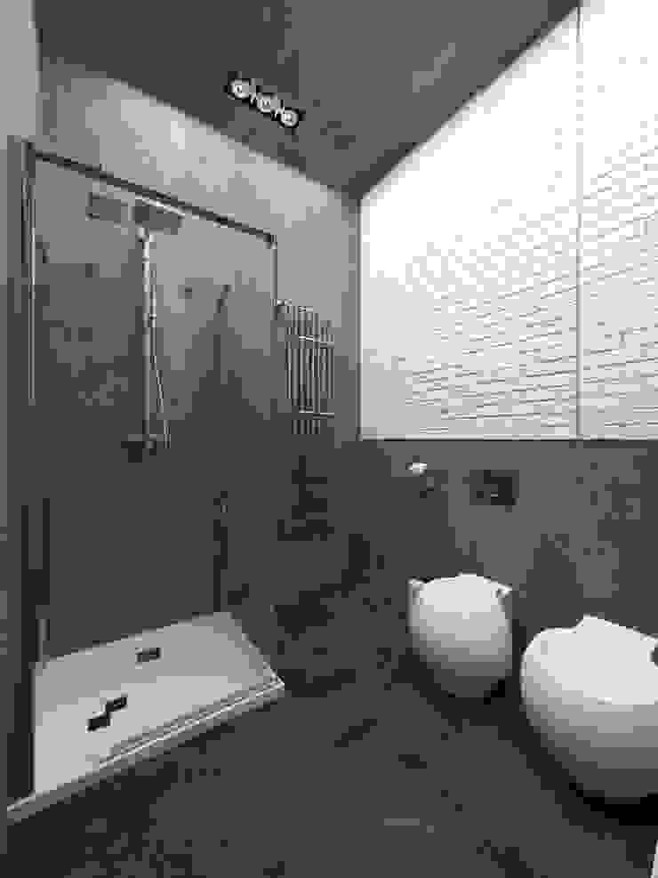Industrial style bathroom by osavchenko Industrial