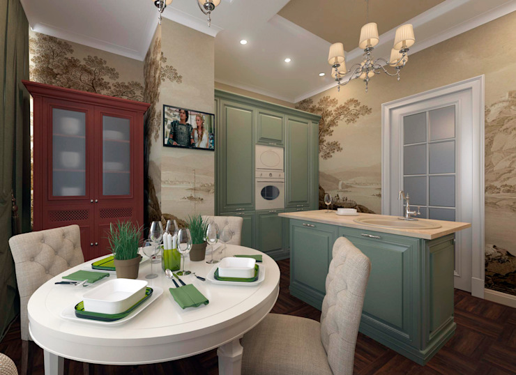 Classic style dining room by osavchenko Classic