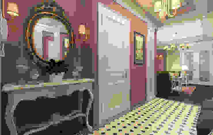 Classic style corridor, hallway and stairs by osavchenko Classic