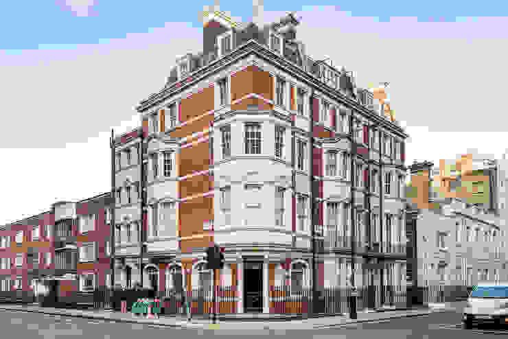 London Portman Refurbishment :  Houses by designSTUDIO - Lopes da Silva, Classic