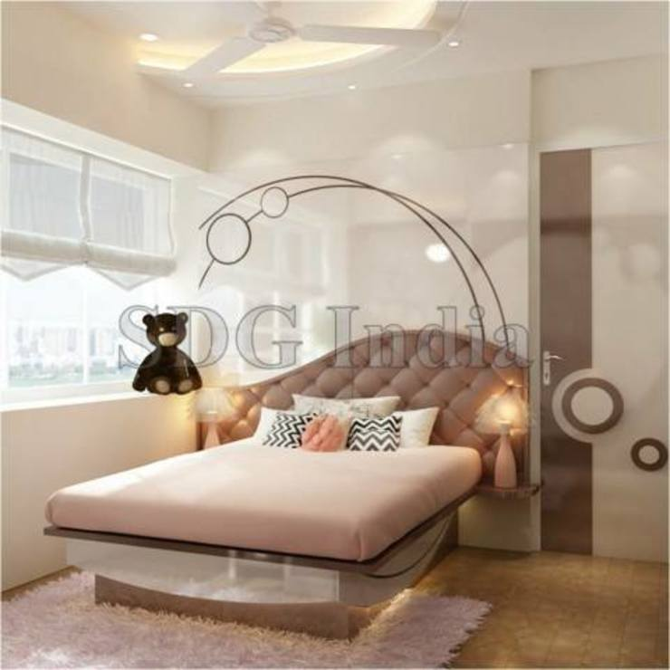 Interiors Space Design Group Modern style bedroom