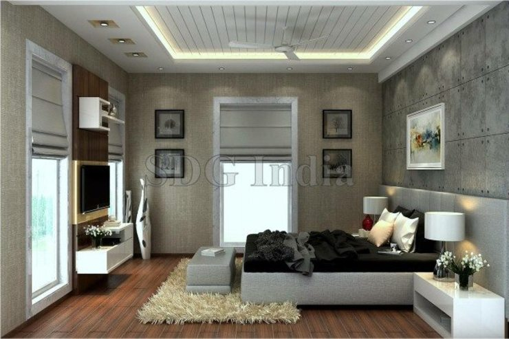Interiors Modern style bedroom by Space Design Group Modern