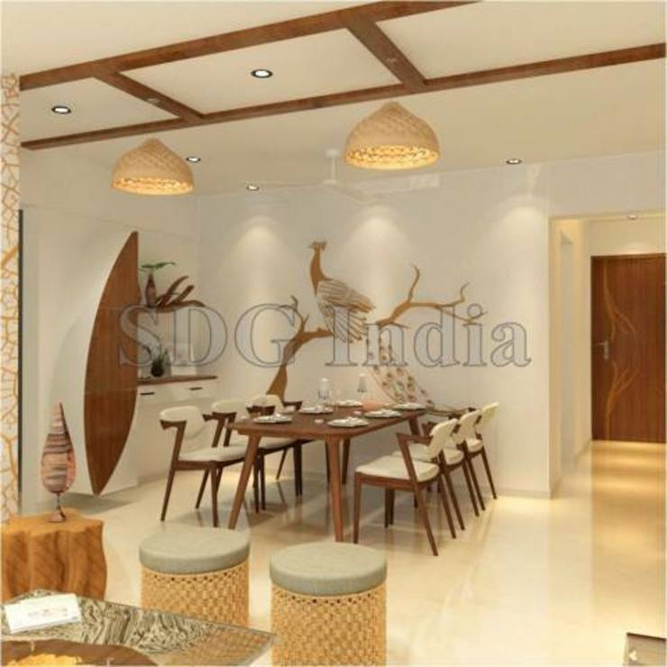 Interiors Space Design Group Modern dining room