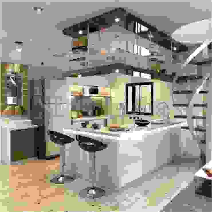 Interiors Modern kitchen by Space Design Group Modern