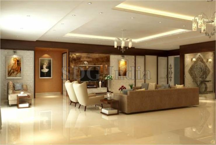 Interiors Modern living room by Space Design Group Modern
