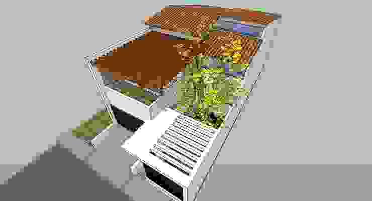 Vista Superior Casas modernas de MARATEA estudio Moderno