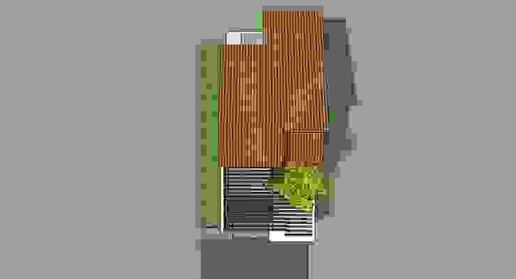 Planta de Techos Casas de estilo moderno de MARATEA estudio Moderno