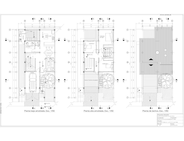 Plantas de distribución Anexos de estilo moderno de MARATEA estudio Moderno