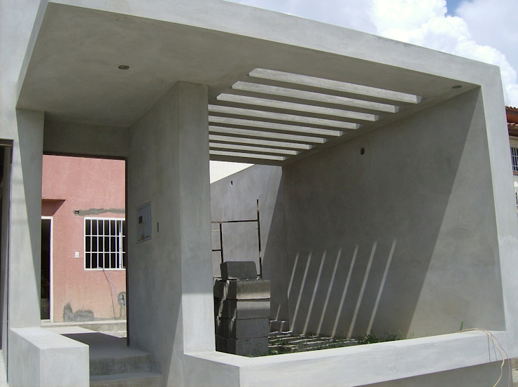 Avance de obra Casas modernas de MARATEA estudio Moderno Concreto reforzado