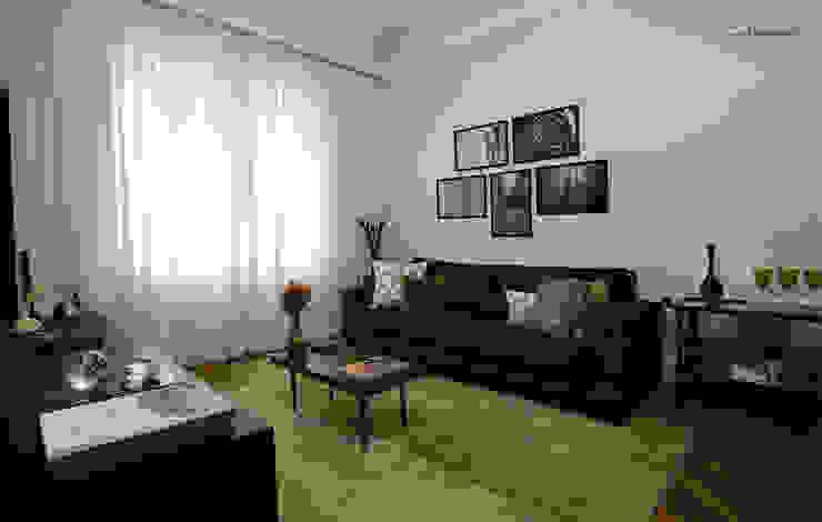 Living room by SET Arquitetura e Construções