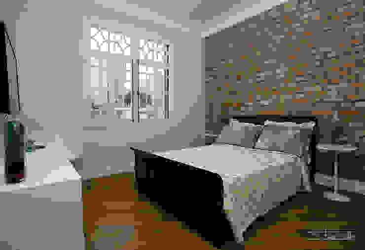 Chambre classique par SET Arquitetura e Construções Classique