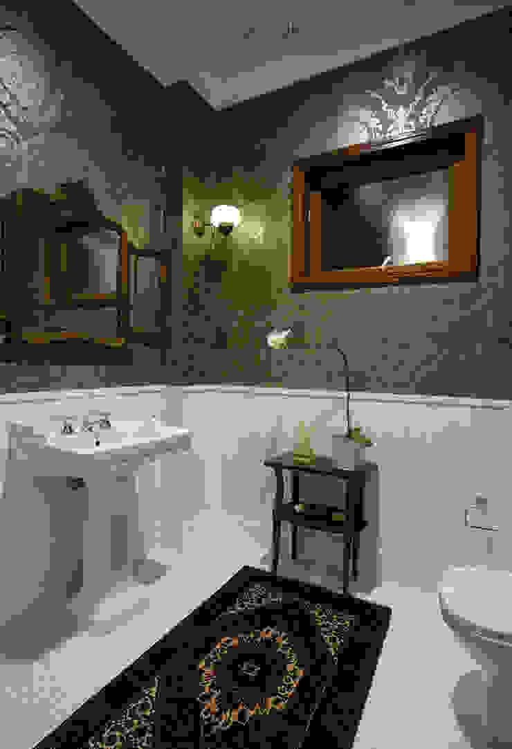 Residencial Liberdade SET Arquitetura e Construções Banheiros clássicos