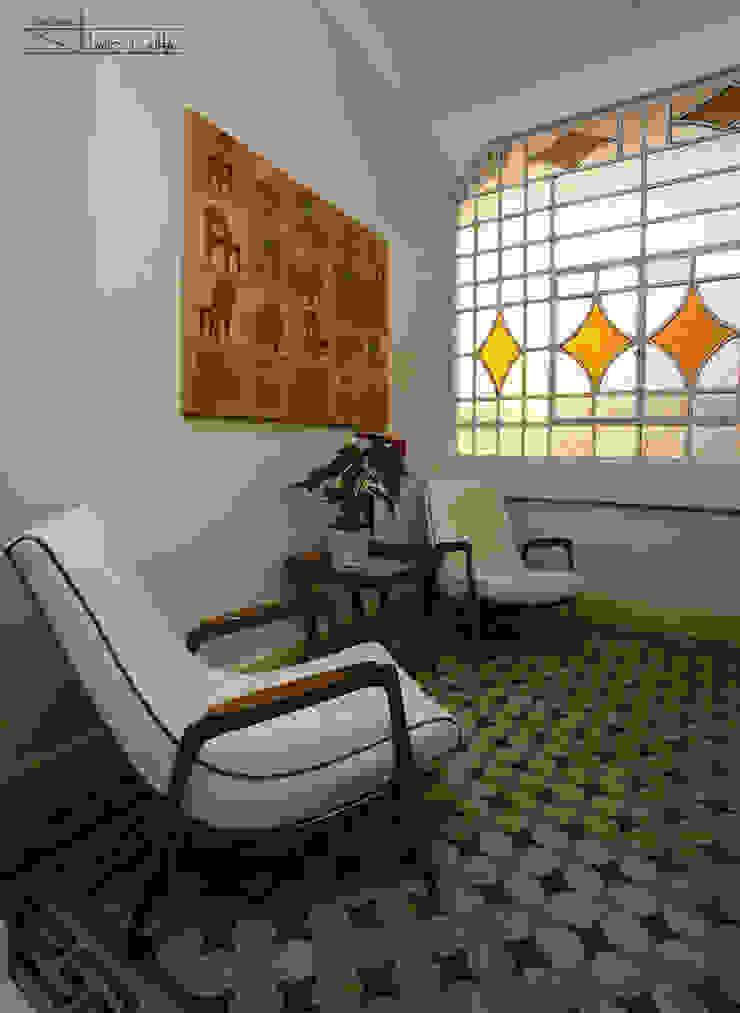 Residencial Liberdade SET Arquitetura e Construções Salas de estar clássicas