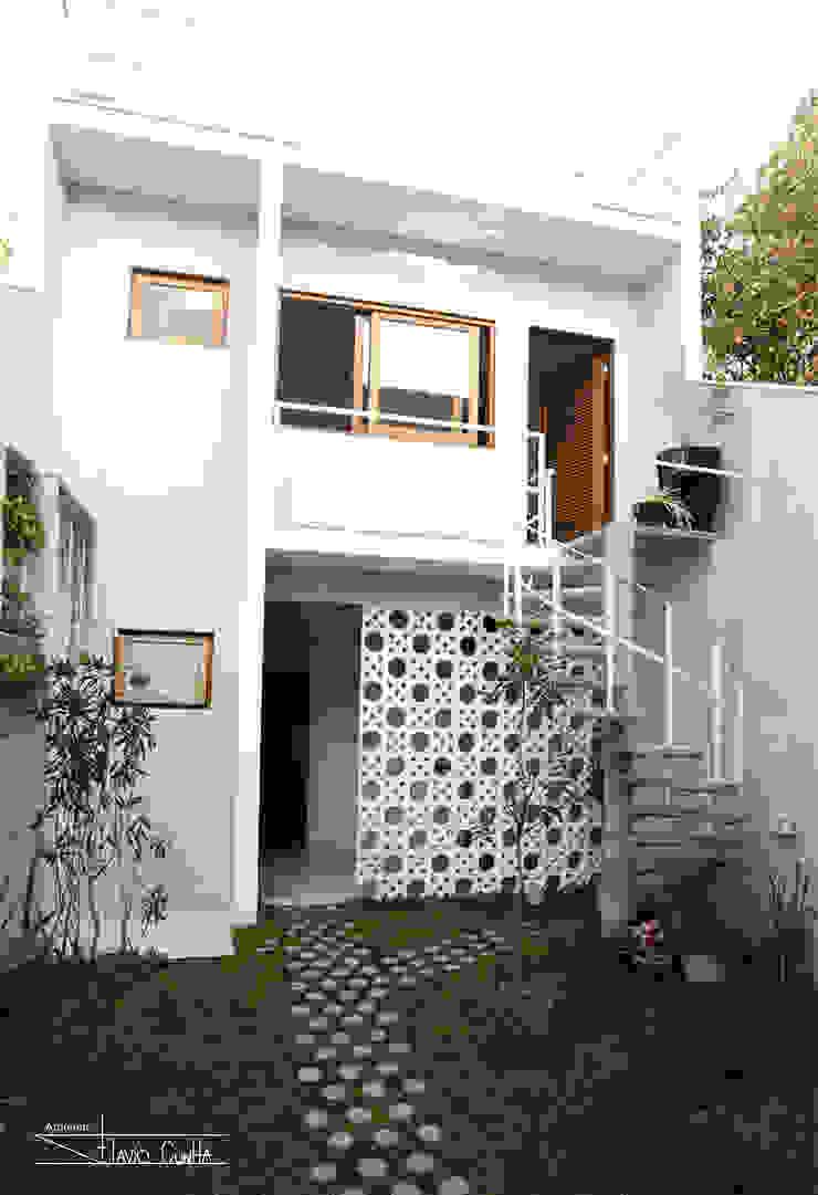Residencial Liberdade SET Arquitetura e Construções Varandas, alpendres e terraços clássicos