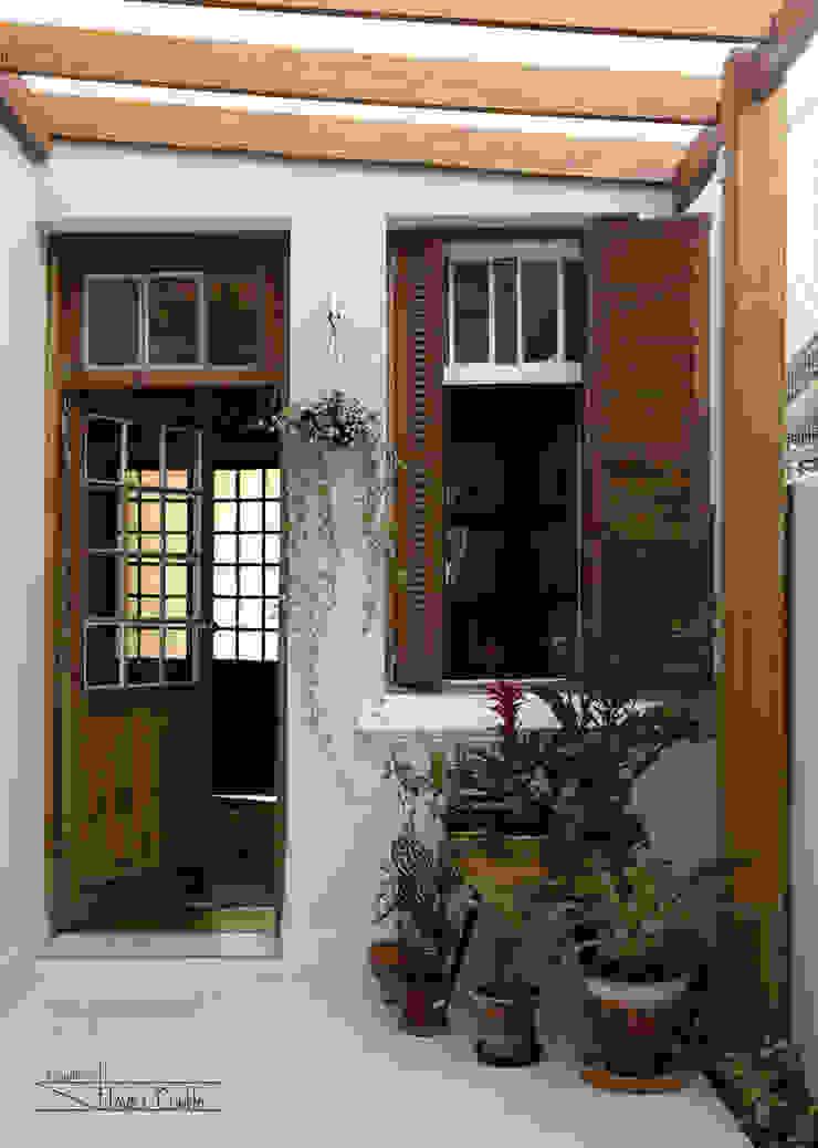 Residencial Liberdade SET Arquitetura e Construções Jardins de inverno clássicos