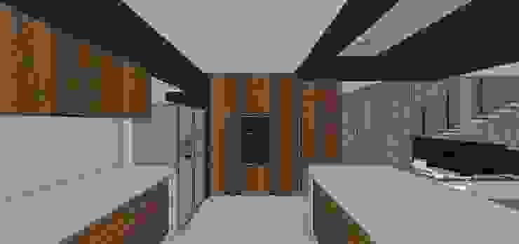 Cocina Cocinas de estilo minimalista de MARATEA estudio Minimalista