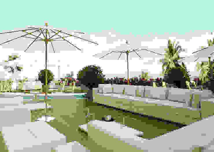 Balcones y terrazas de estilo mediterráneo de homify Mediterráneo