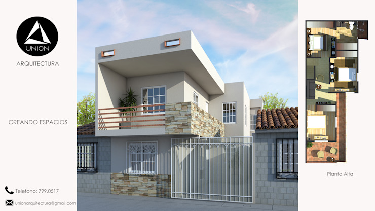Modern Houses by Union Arquitectura Modern Concrete