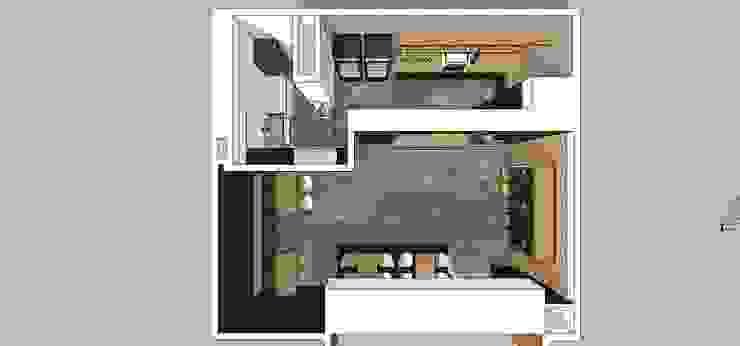 Vista superior MARATEA estudio Restaurantes