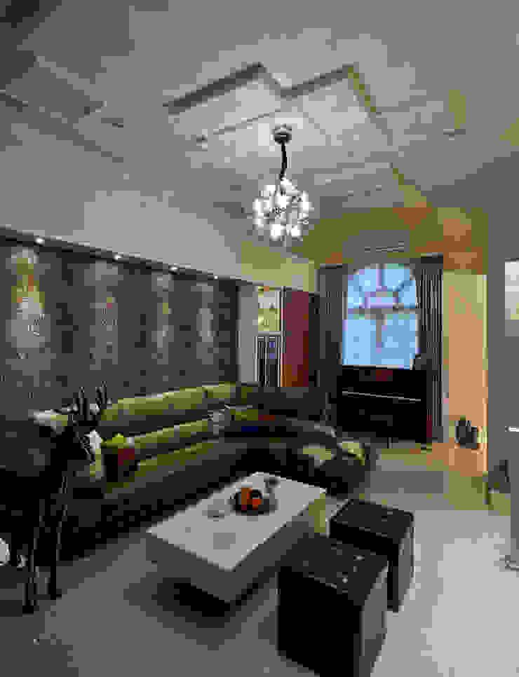 品味混搭設計宅 现代客厅設計點子、靈感 & 圖片 根據 舍子美學設計有限公司 現代風