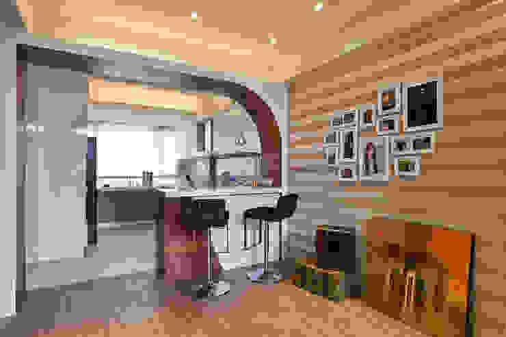 品味混搭設計宅 現代廚房設計點子、靈感&圖片 根據 舍子美學設計有限公司 現代風