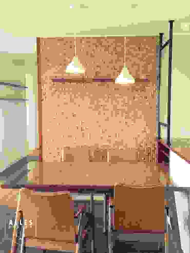 호반베르디움 아파트 인테리어 모던스타일 주방 by 디자인알레스 모던