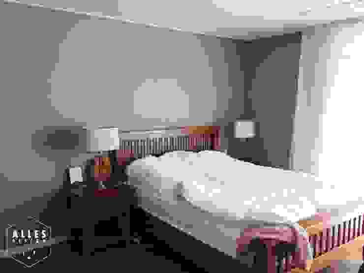 호반베르디움 아파트 인테리어 모던스타일 침실 by 디자인알레스 모던