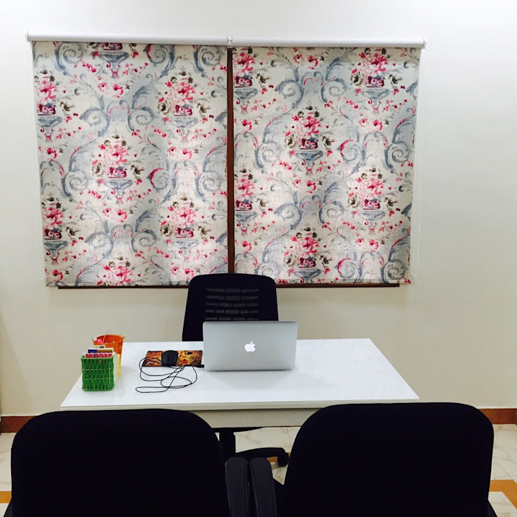 Design studio for a client: modern  by Sanchi Shah,Modern