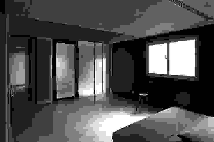 3根鋼管創造空間樂趣 根據 本晴設計 簡約風 水泥